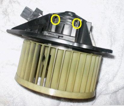 Blower motor removal volvo 850 for Volvo 850 blower motor