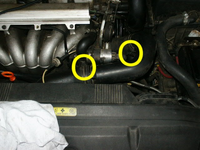 Cam Seal Replacement, rear, 1998 Volvo S70 GLT - Volvo 850
