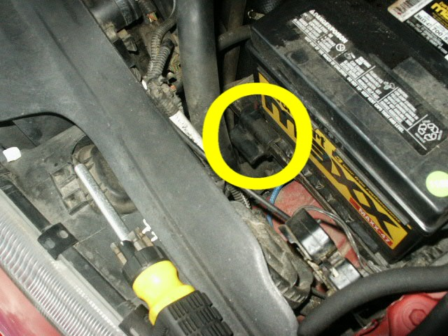Pict on 1998 Volvo S70 Radiator